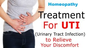 UTI treatment in homeopathy